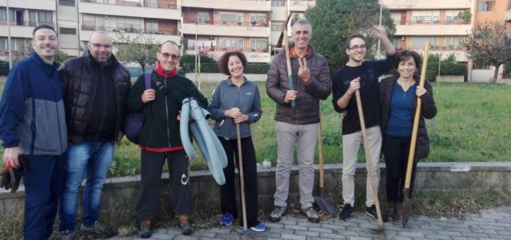 Festa dell'albero al parco Pereira