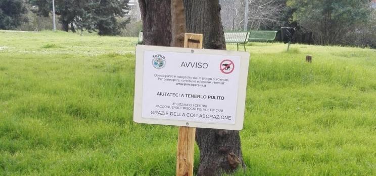 Nuovi cartelli per il parco !